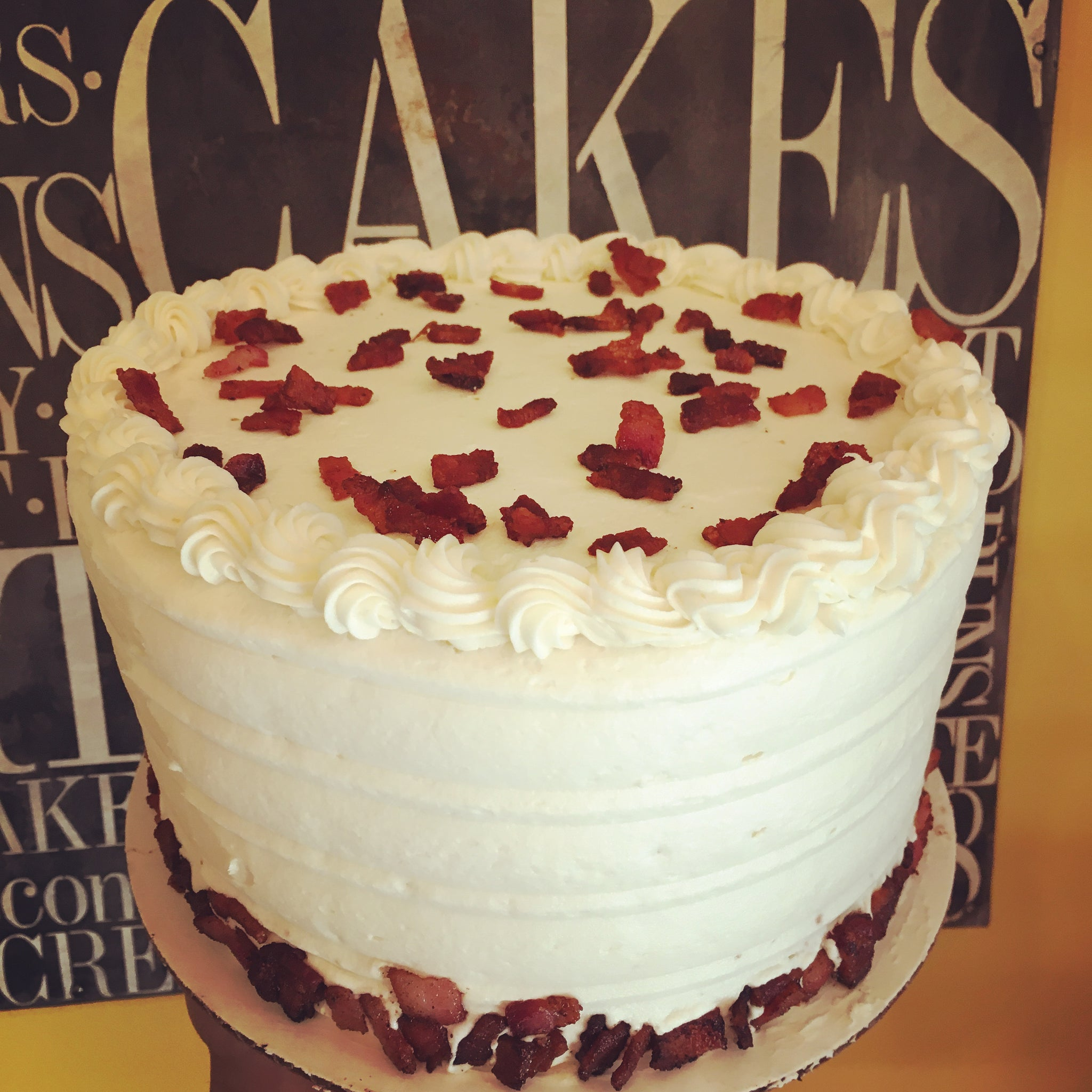 Maple Bacon Cake