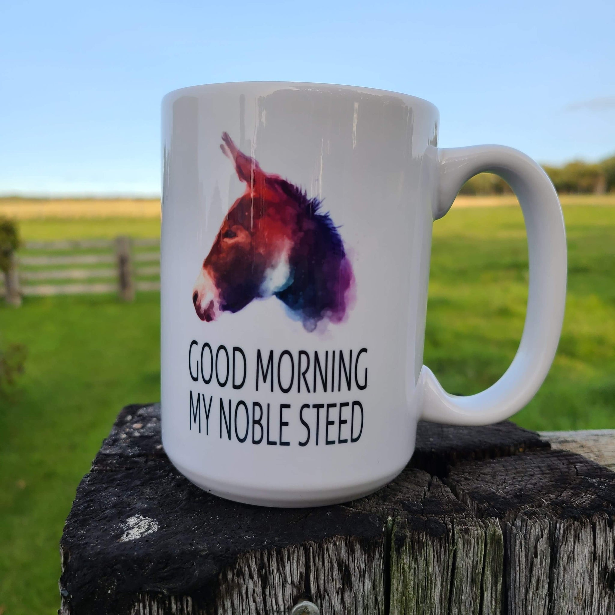 Noble Steed Donkey Mug