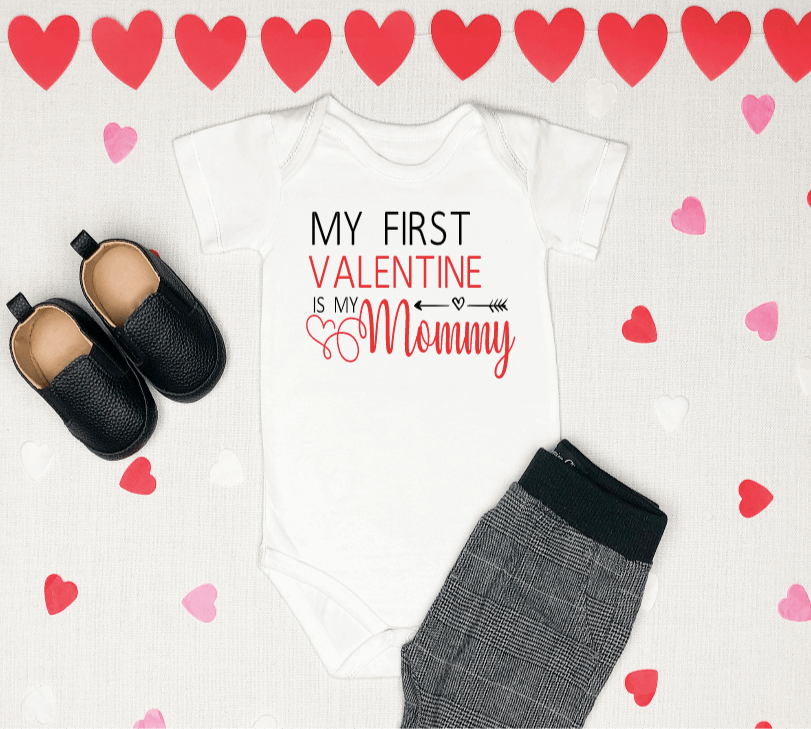 First Valentine is Mommy