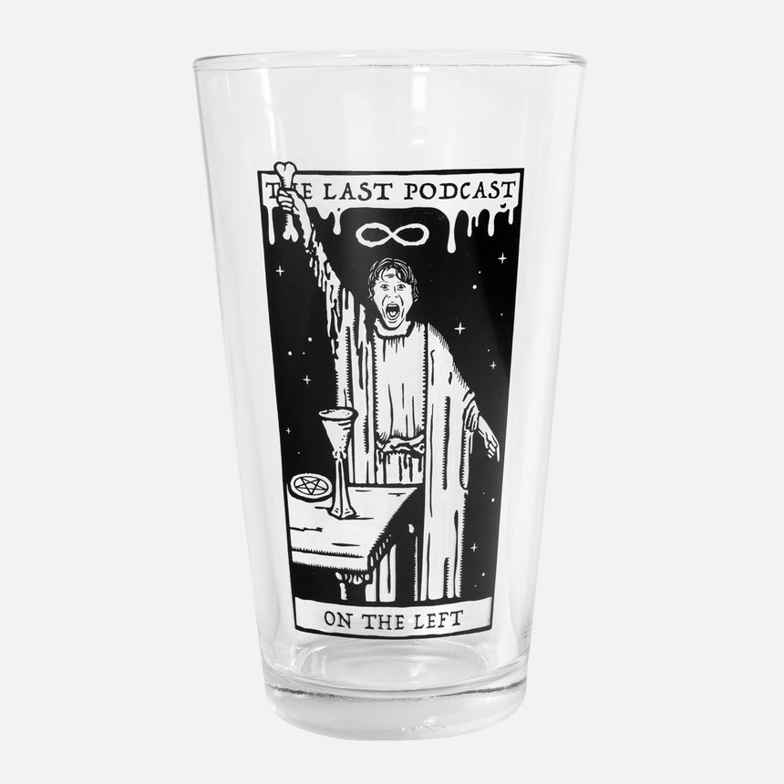 Parks Card Pint Glass