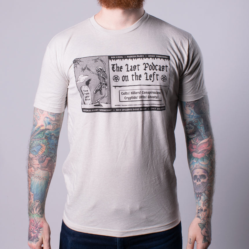 Future Cult Leader Tee man front