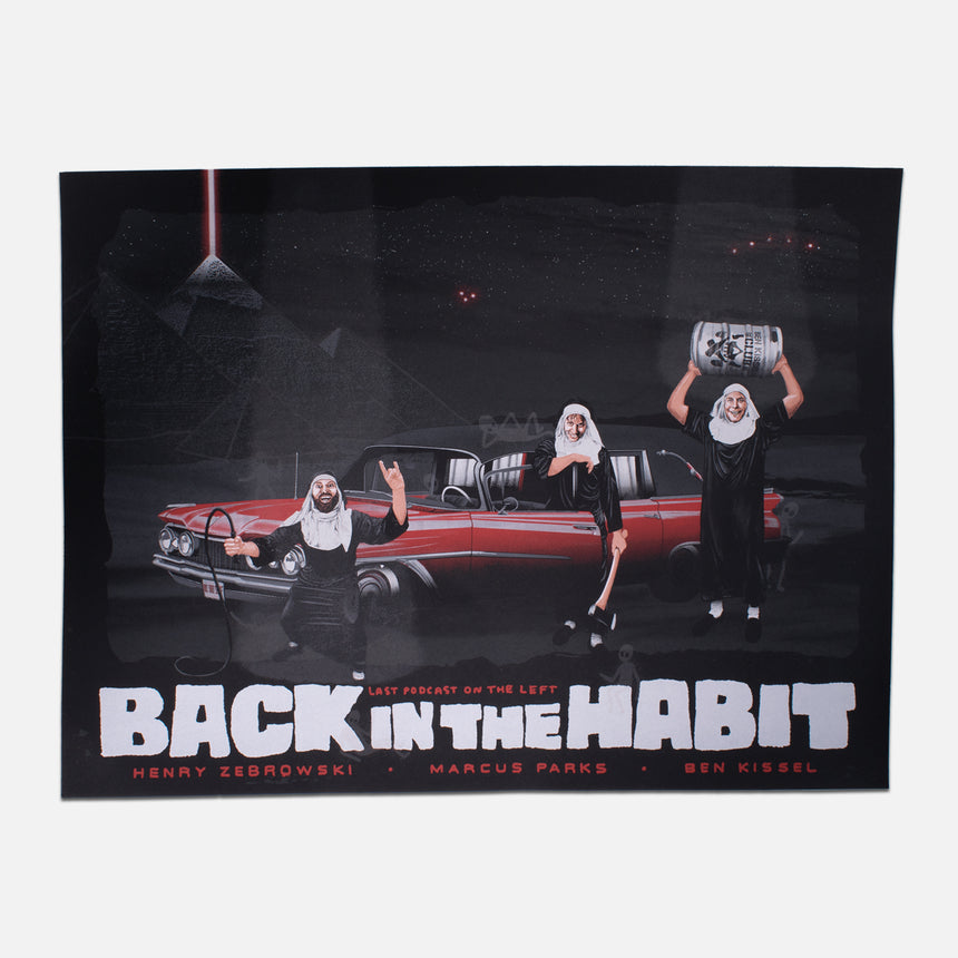 Back in the Habit Tour Poster