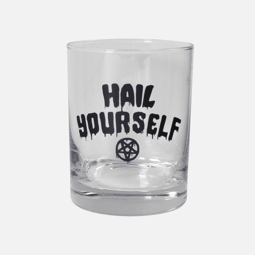 Hail Yourself Double Old Fashion Glass