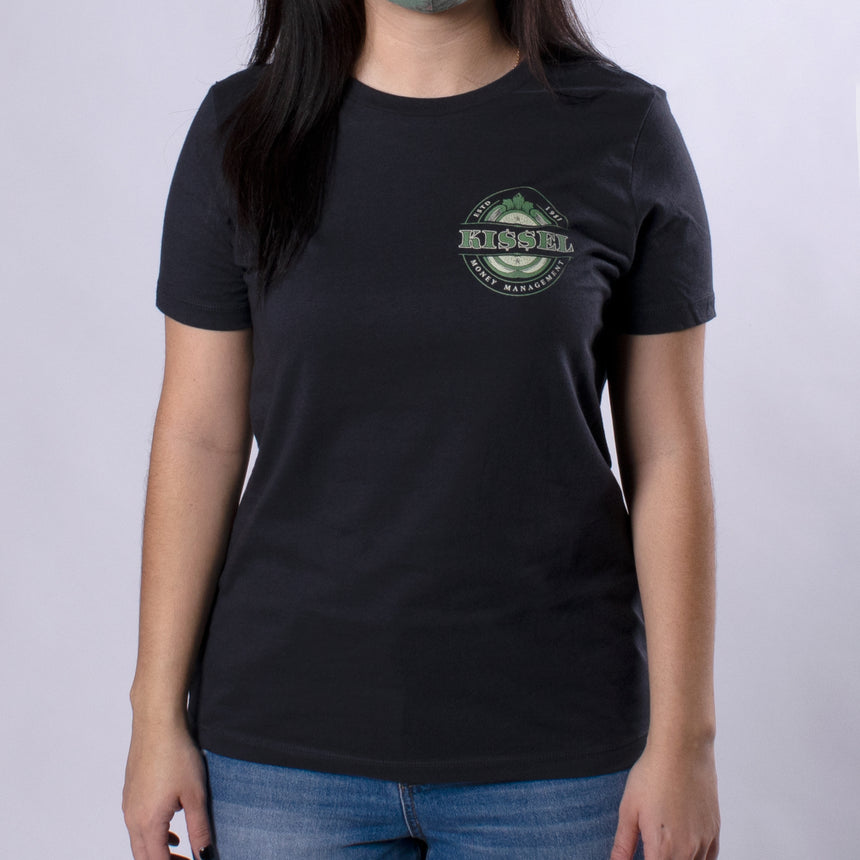 Kissel Money Management Women's Relaxed Tee front