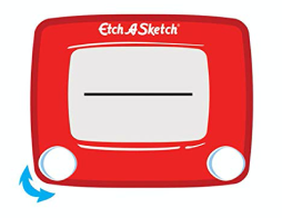 Etch A Sketch - Step 1