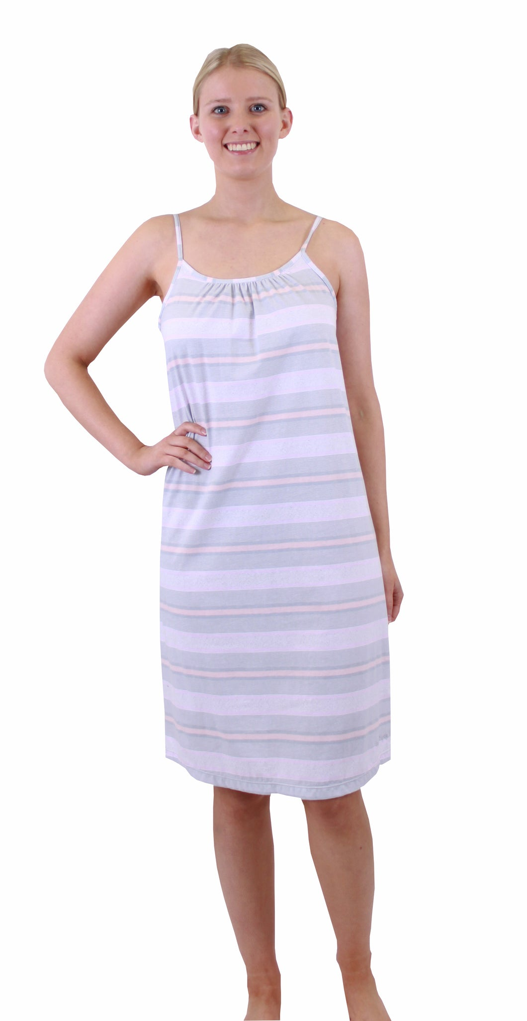 Pickles & Loop Sabrina Stripe Nightie - PL430