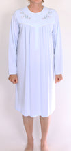 Load image into Gallery viewer, SCHRANK NIGHTIE PALE BLUE HEATHER SK366