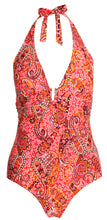 Load image into Gallery viewer, Sea Star Swimwear Paisley Control One Piece - 20159