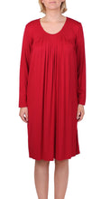 Load image into Gallery viewer, YUU PLEATED DRESS CHERRY Y602