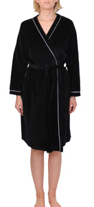 Velour Piping Robe - Y819
