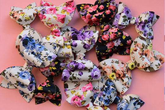 Leather Collection - Floral