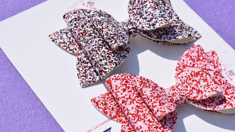 Be mine Set of 2 Bows