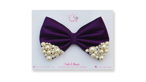 Purple Pearl Bow