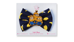 You are one in a Minion Bow Darkest Blue