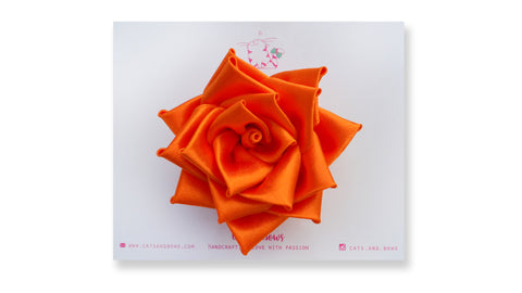 Satin Rose Orange