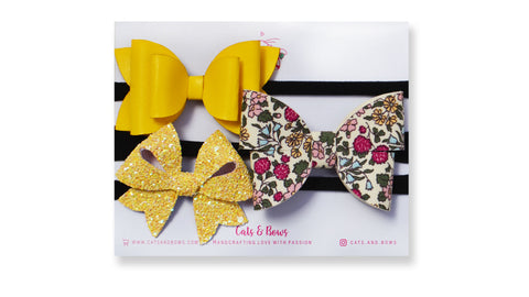 Sunshine Bow Set