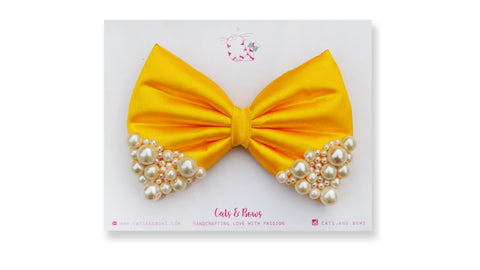 Yellow Pearl Bow