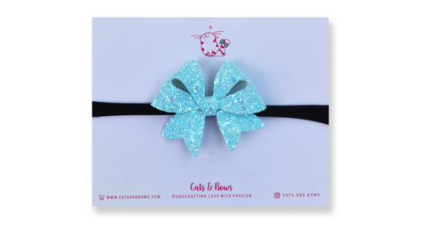 Icy blue Starlet Bow