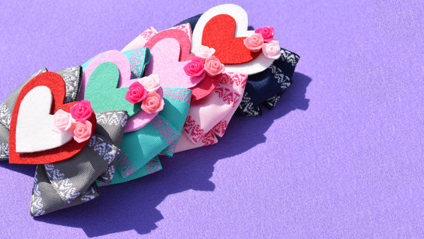 Heart You Ribbon Bow