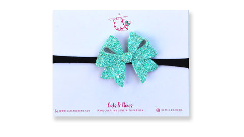 Sea Green Starlet Bow