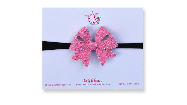 Peachy Pink Starlet Bow