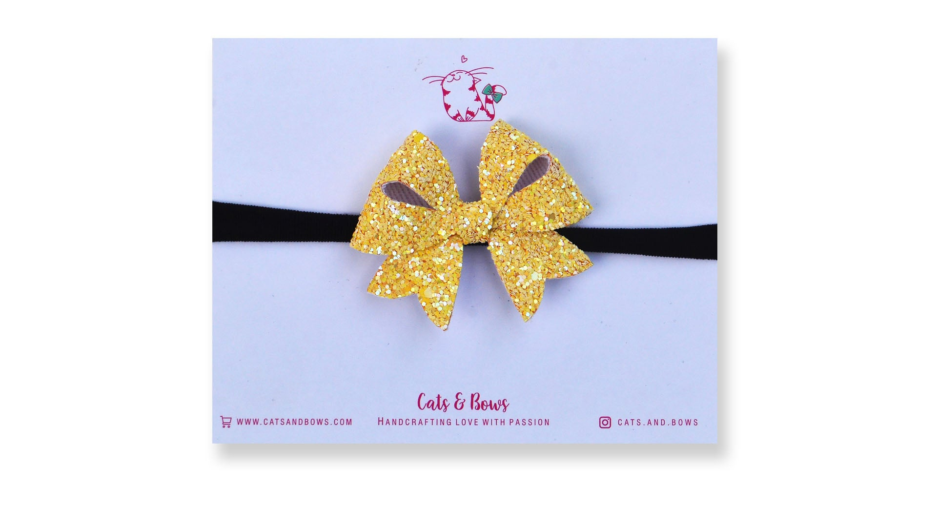 Yellow Sunshine Starlet Bow