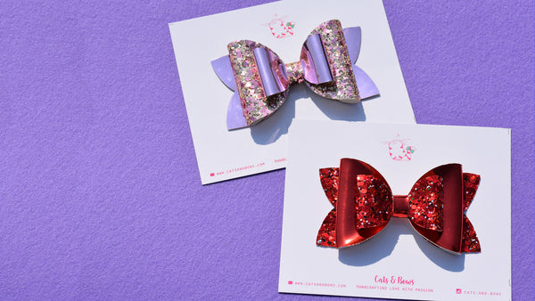 Reversely Mad About you Set of 2 Bows
