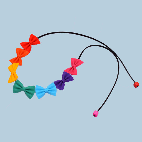 Rainbow TIY headband