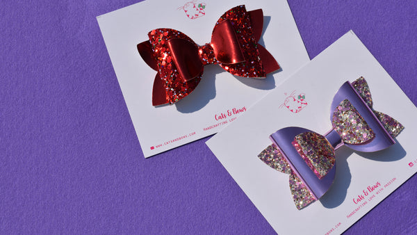 Mad About you Set of 2 Bows