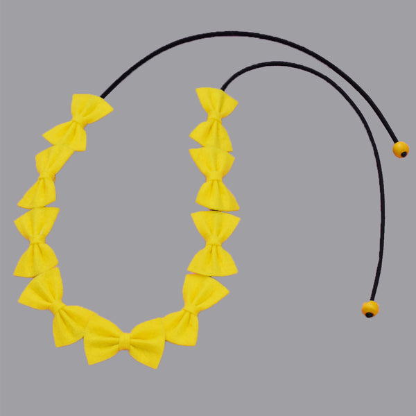 Lemon TIY headband