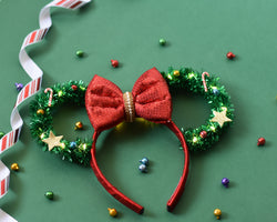 Light-Up Christmas Disney ears