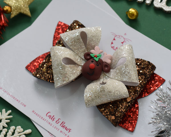 ENCHANTED RUDOLPH BOW