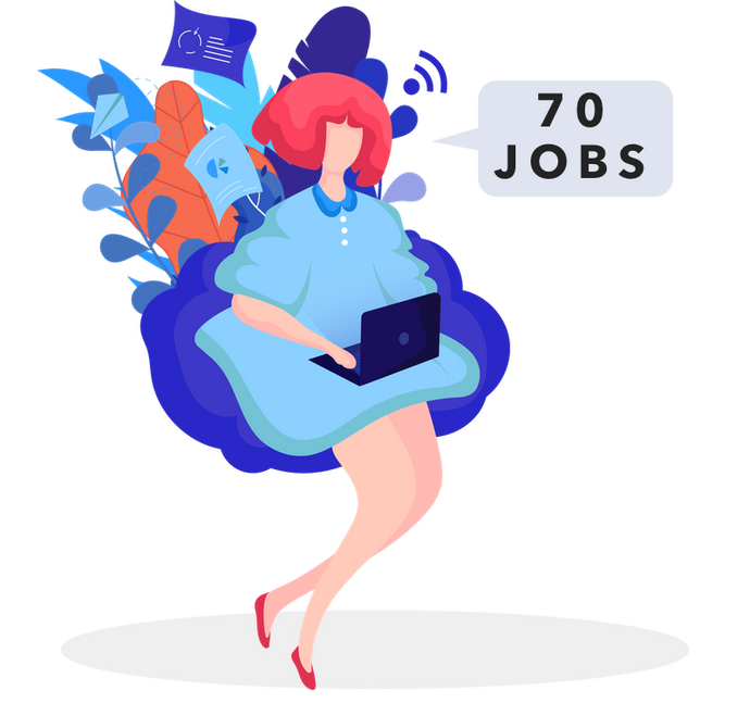Custom Search and Apply for up to 70 Jobs