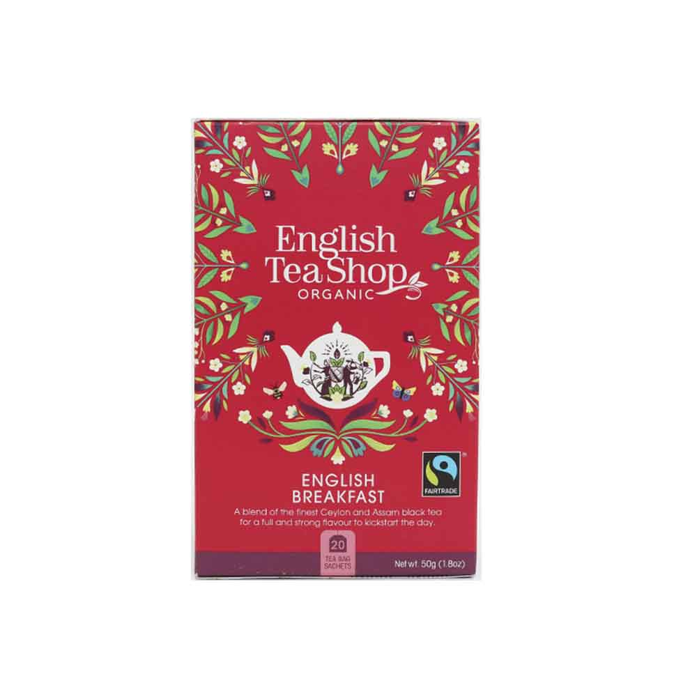 Té Negro English Breakfast Ecológico English Tea Shop