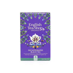 Té English Breakfast Descafeinado Ecológico English Tea Shop