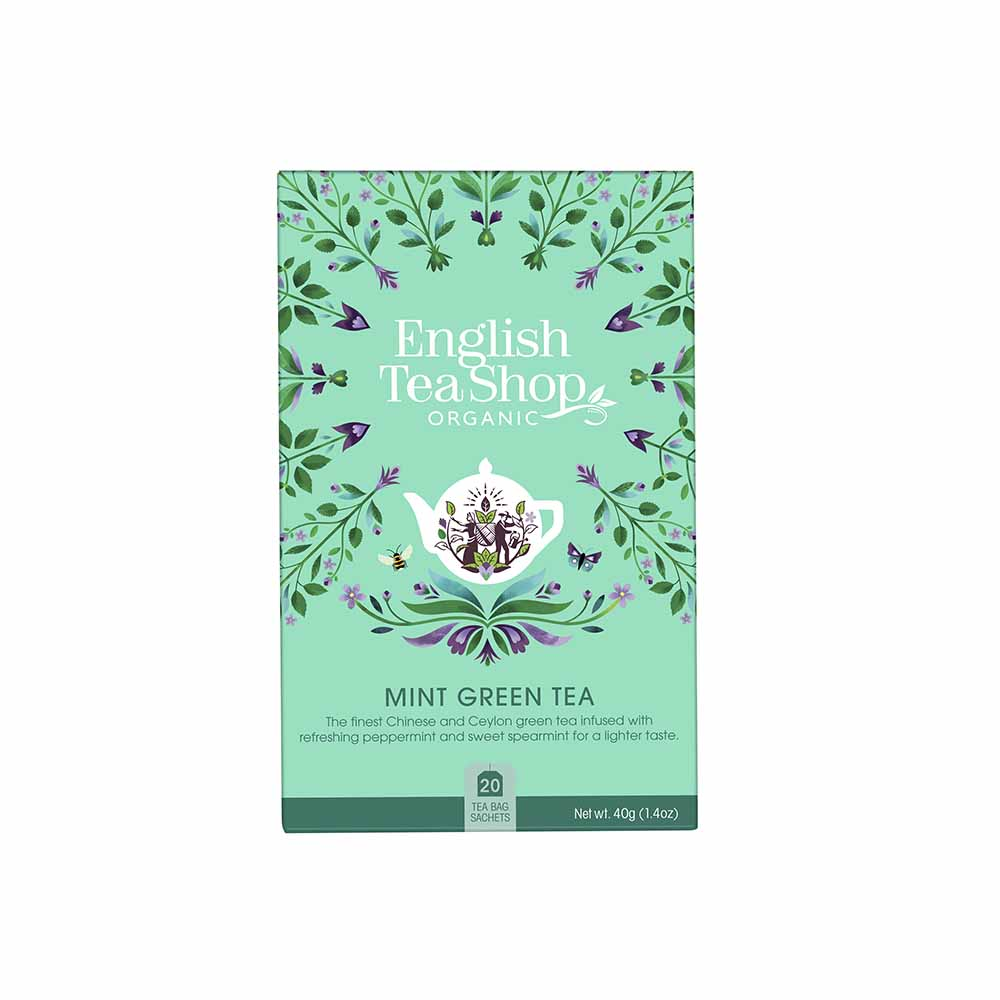 Té Verde con Menta Ecológico English Tea Shop