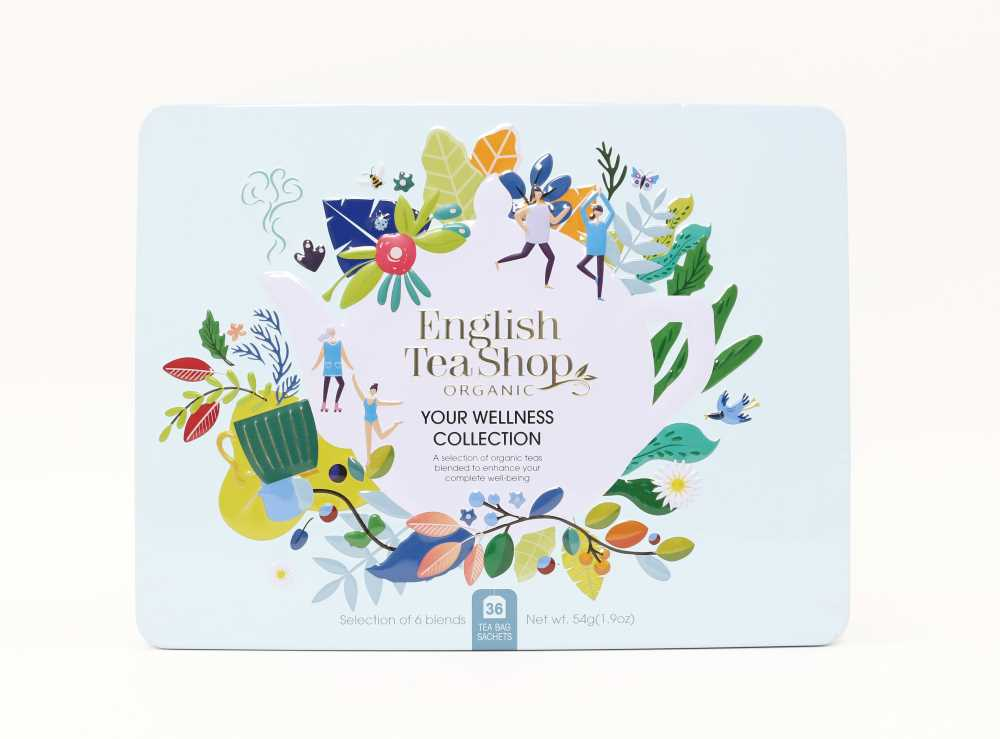 Caja de Infusiones Colección Wellness 36 Bolsitas English Tea Shop