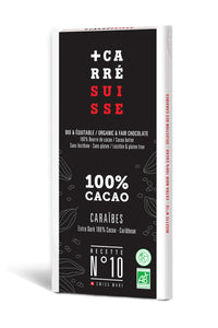 Chocolate Negro 100% Bio Carre Suisse