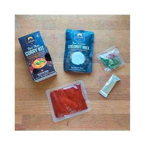 Kit para preparar Curry Rojo deSiam