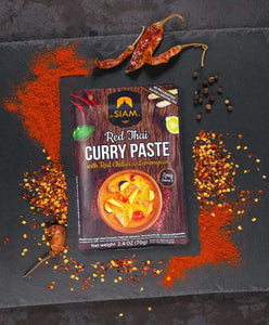 Pasta de Curry Rojo deSiam