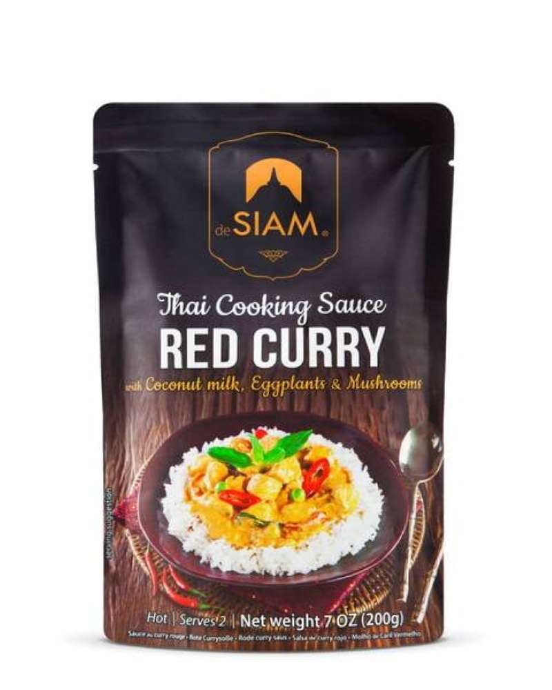 Salsa de Curry Rojo deSiam