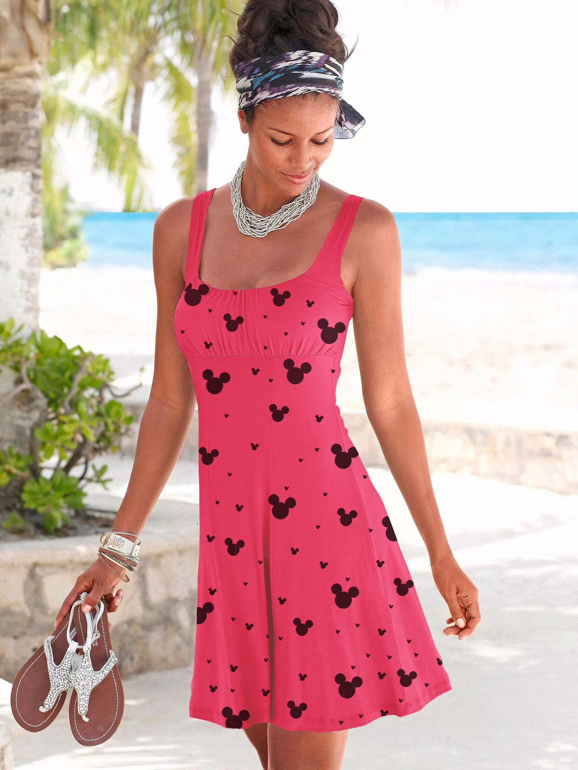 Mickey Mouse Hanging Beach Dress