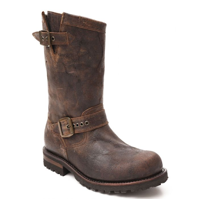 Men's Vintage Engineer Boots Motorcycle Boots