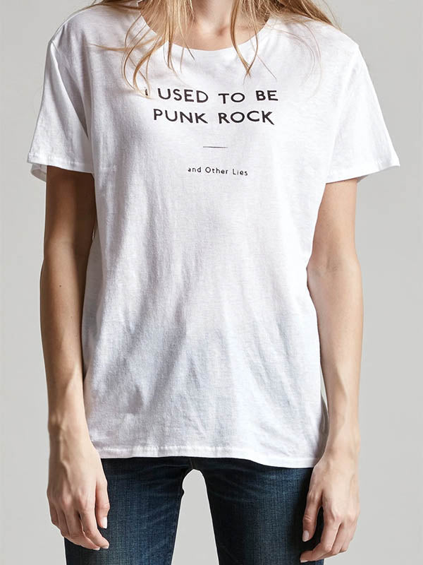 """I used to be punk rock"" T-shirt"