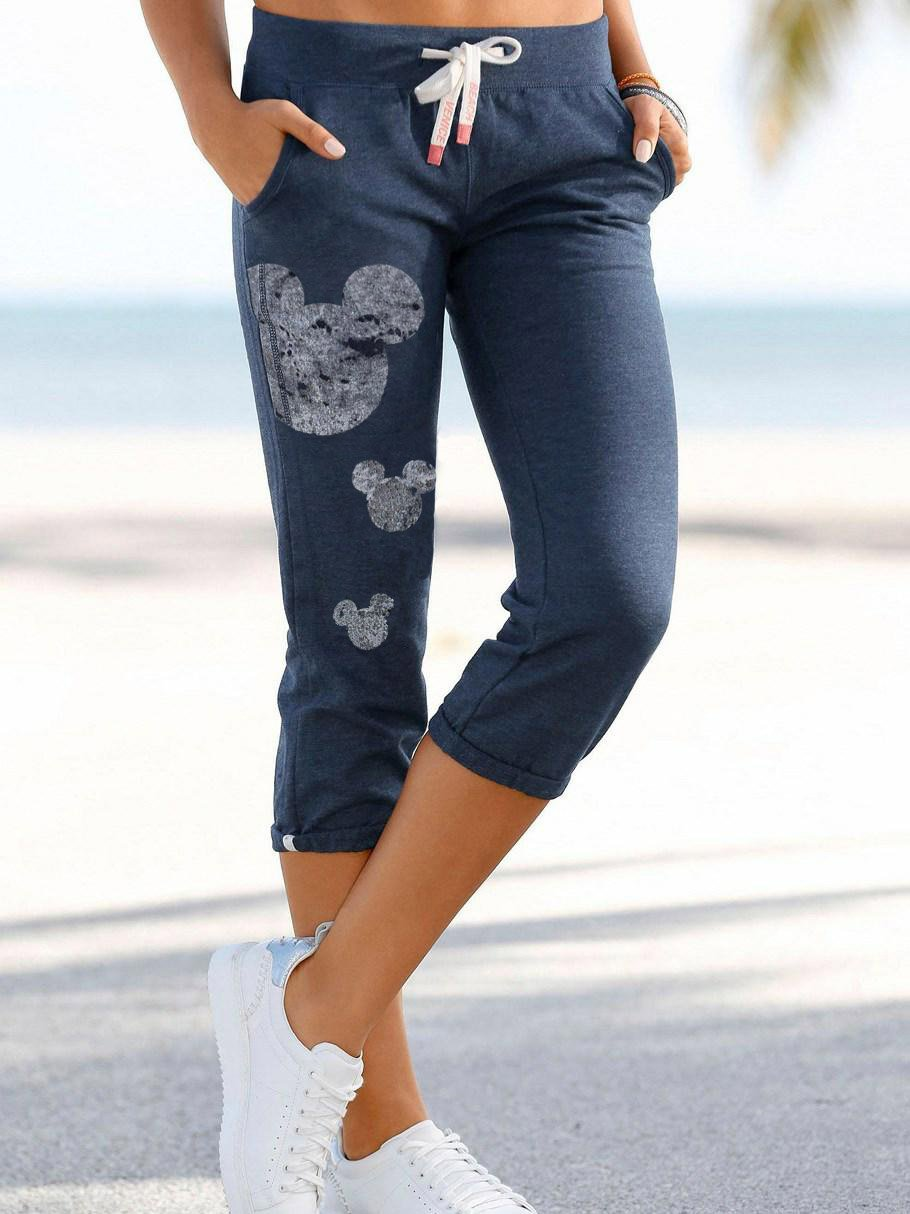 Mickey Mouse Sports And Leisure Cropped Trousers