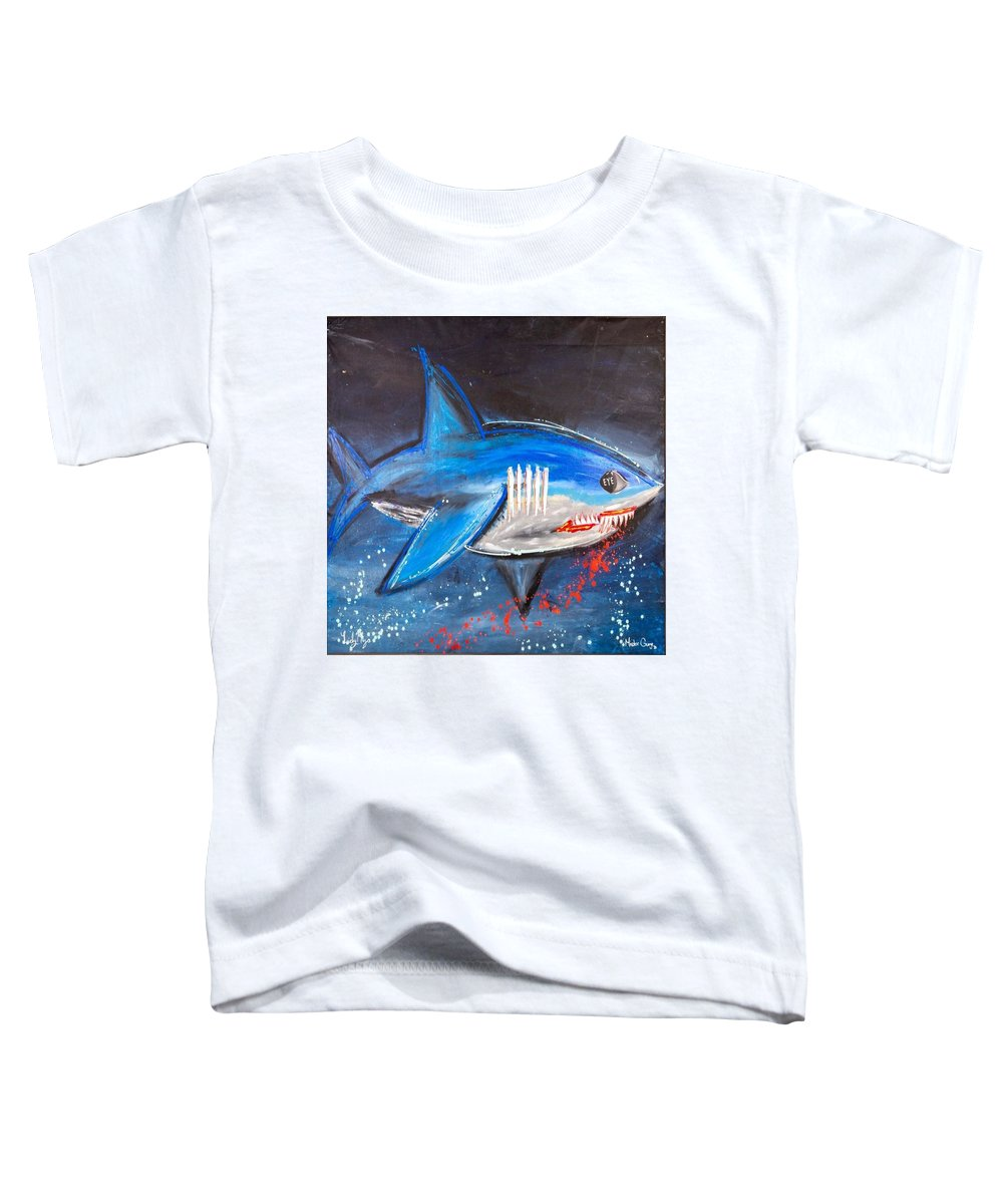 Shark Attack  - Toddler T-Shirt