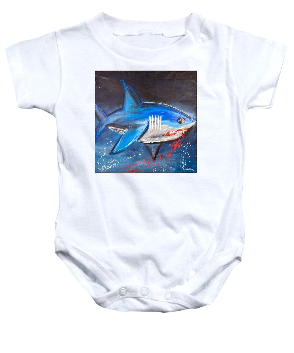 Shark Attack  - Baby Onesie