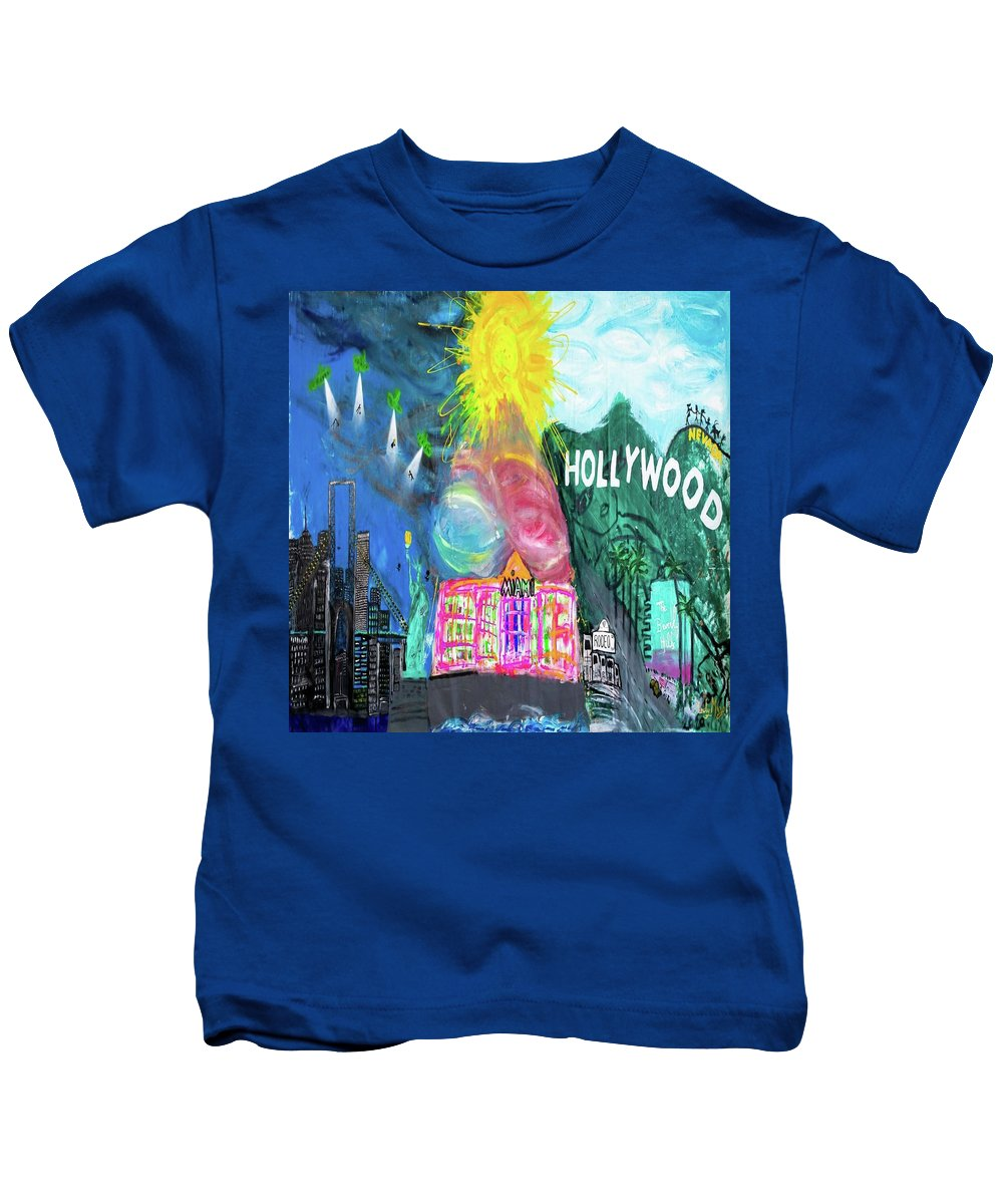 Hollywood - Kids T-Shirt