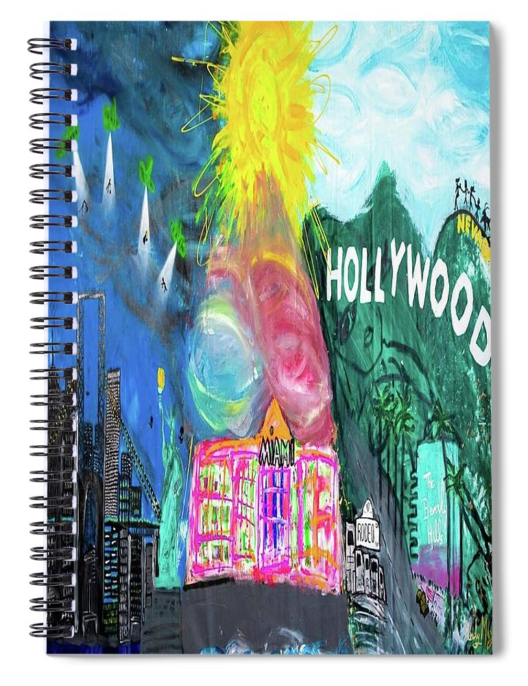 Hollywood - Spiral Notebook