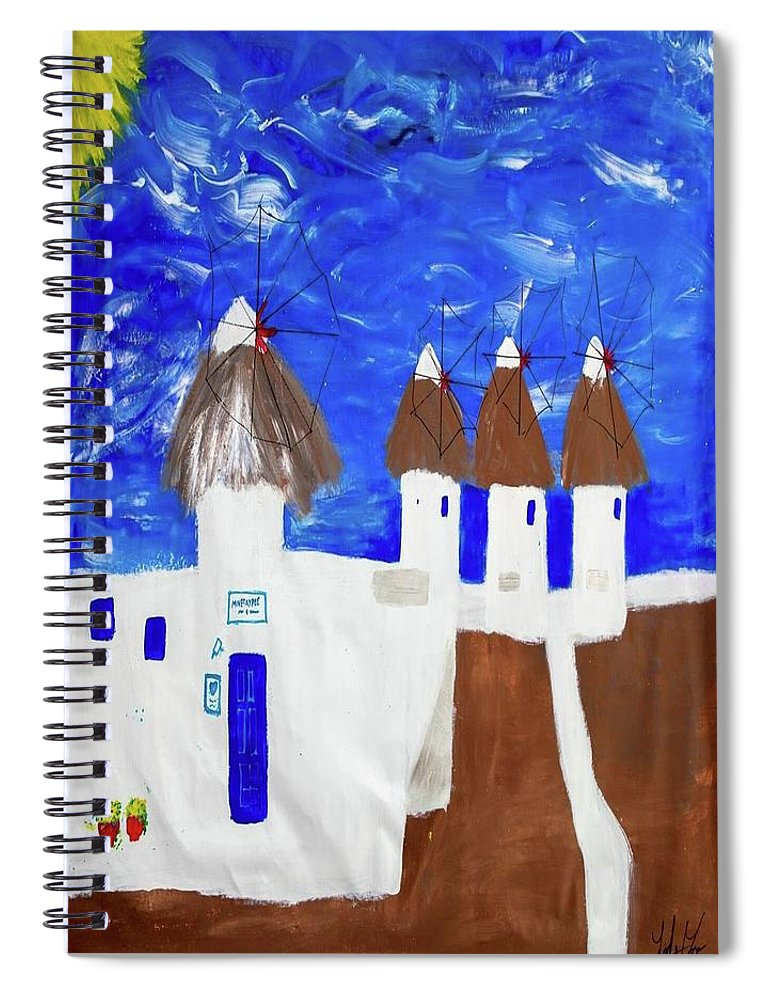 Greece  - Spiral Notebook